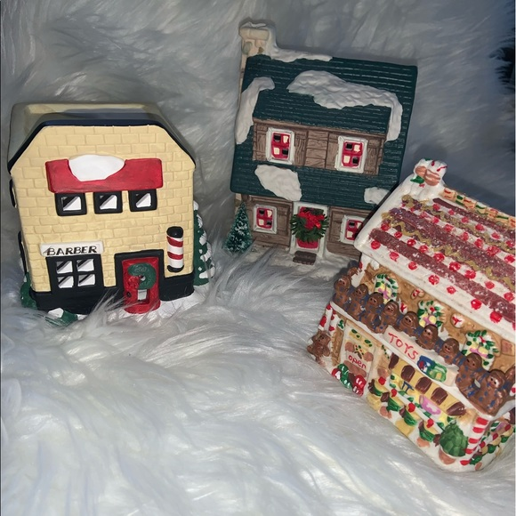 None Other - Combo Christmas house ornaments
